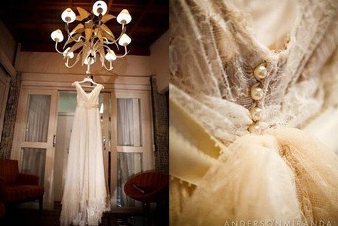 Vestido de noiva Lethicia Bronstein