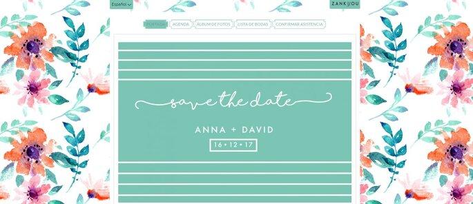 Cread vuestra web de boda 4.0 fácil, personal y vuestra medida