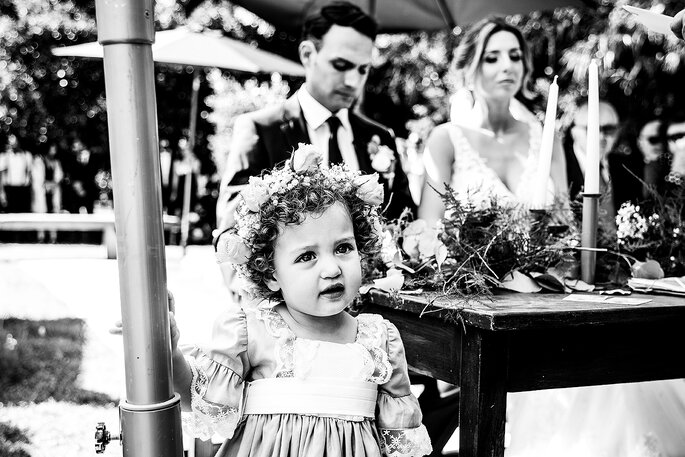 Clara, a filha do casal