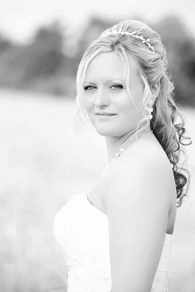 Klassische Brautfrisuren 2012 sehr beliebt - Foto: Gabriele Wundeberg