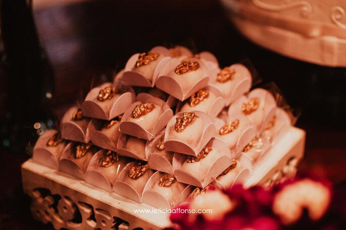 Doces de nozes para casamentos