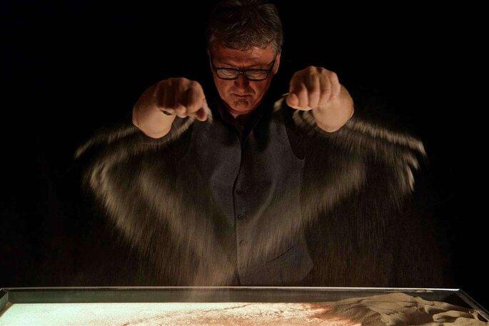 Urs Rudin: Sandmaler & Musiker