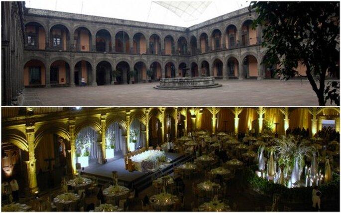 Tu boda en el Colegio Vizcainas en el df. Imagen Colegio San Ignacio de Loyola Vizcainas