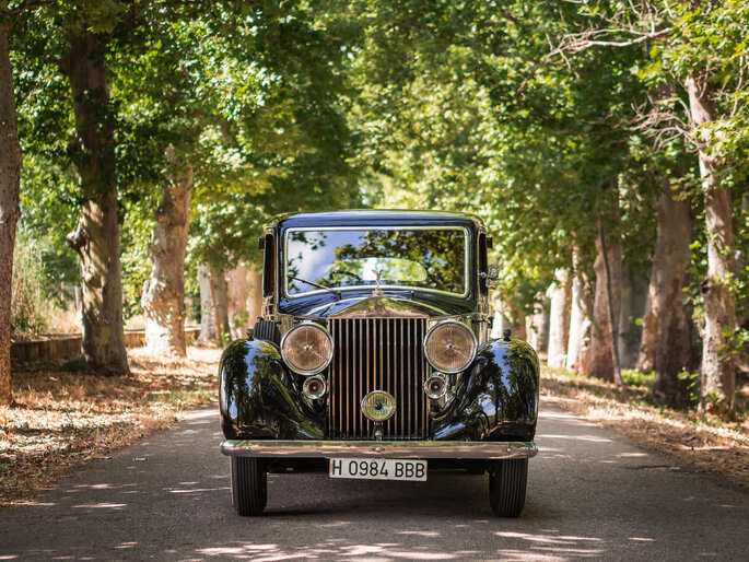 Rolls Royce 25/30 coches para bodas Madrid