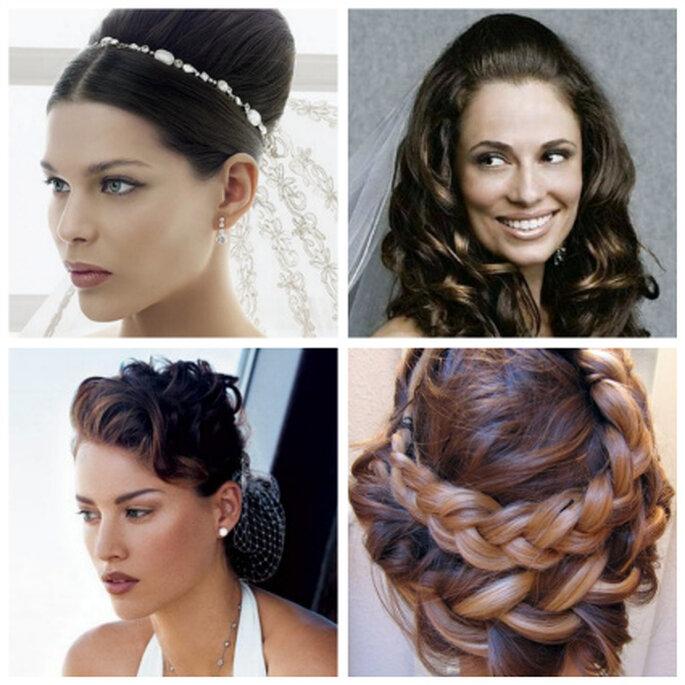 Los 4 peinados más de moda para novias