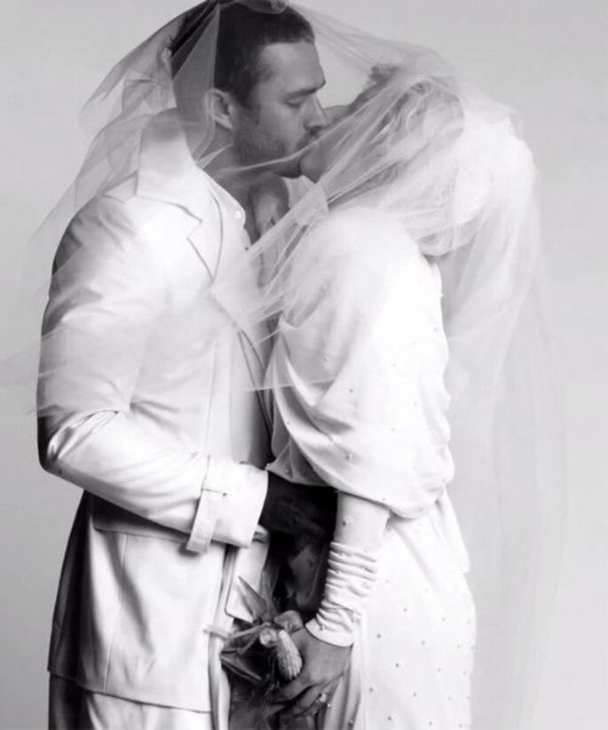 Inspirate en Lady GaGa para tu look de novia - Foto Lady GaGa Twitter