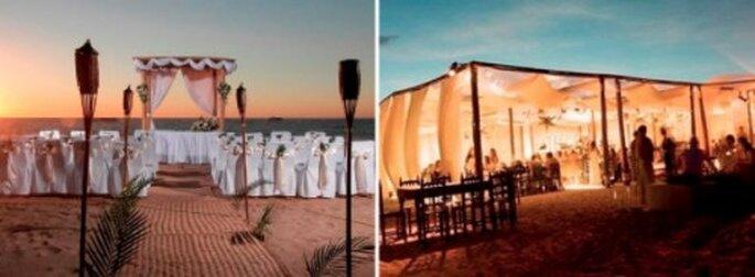 Pour votre mariage en Corse, que diriez-vous d'une cérémonie sur la plage ? - Crédit Photos : The Bride Next Door, Décoration Tendance Mariage