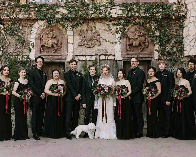 Die Eltern des Brautpaares.