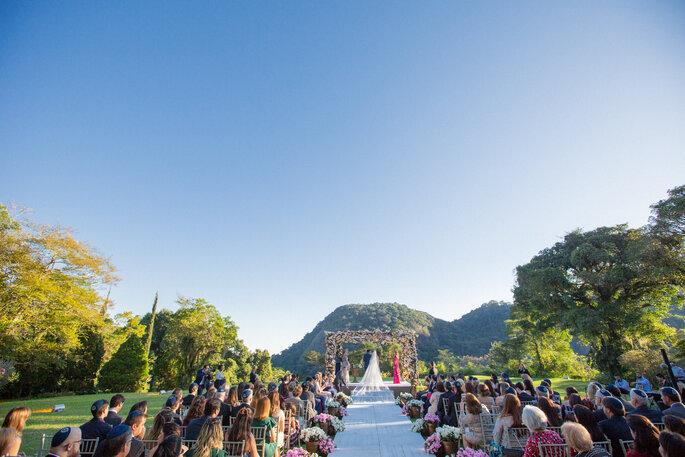 Local da cerimônia e da festa: Mansão das Heras - Foto: Rodrigo Sack
