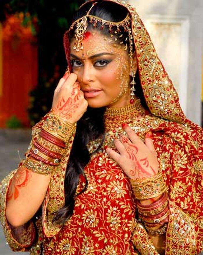 Novela Caminho das índias: Maya vestida de noiva