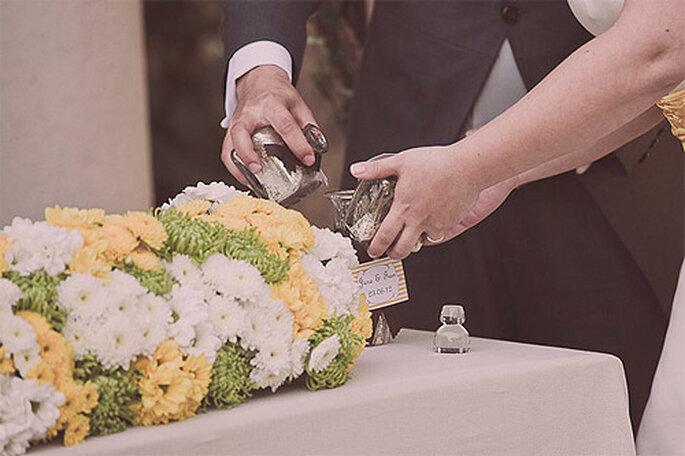 Detalle de una boda civil a la americana. Foto: Adrián Tomadín