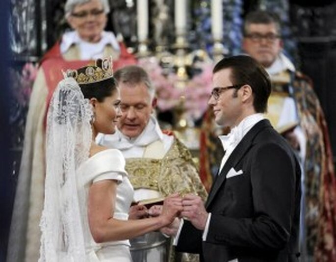 Boda de Victoria de Suecia y Daniel Westling (Efe-Pontus Lundahl)