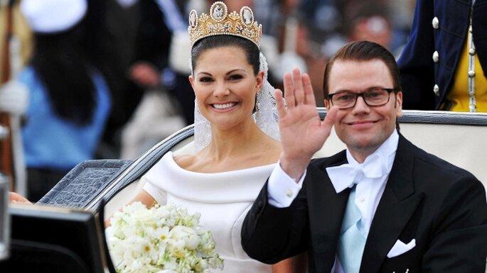Viktora und Daniel von Schweden