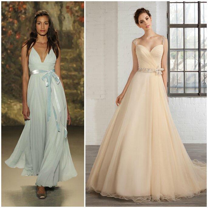 Robes de mariée, Demetrios et Jenny Packham
