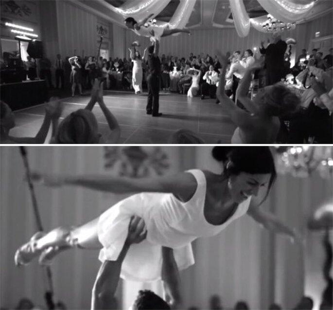 Baila la canción de Dirty Dancing en tu primer baile de bodas - Foto Joe Pollock Films YouTube
