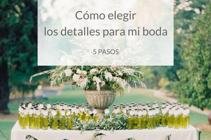 Como elegir los detalles para la boda