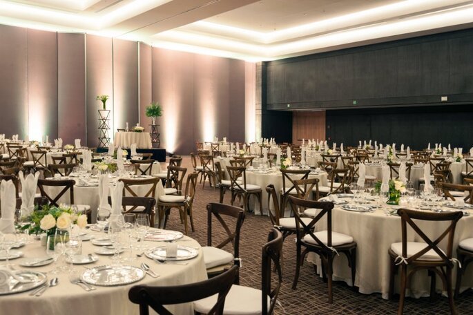Hermosos salones para celebrar bodas