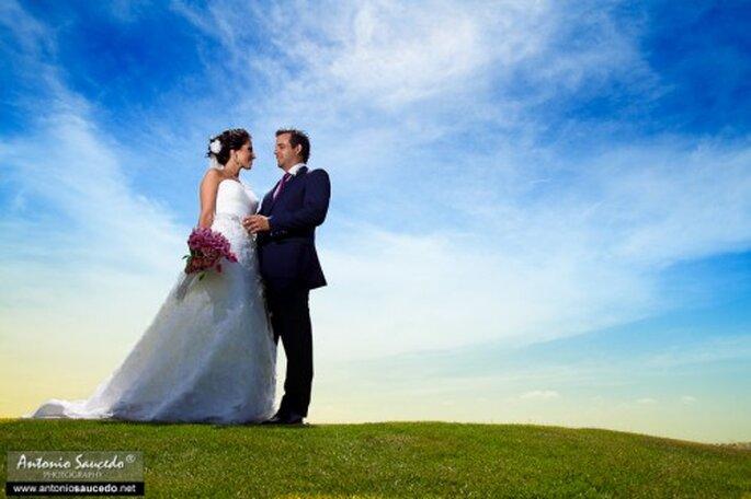 Fotografías de boda en México.  Foto: Antonio Saucedo