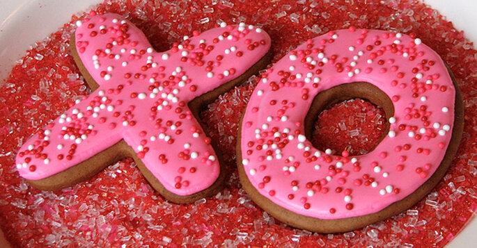 Galletas para San Valentín. Foto: Whipped Bakeshop
