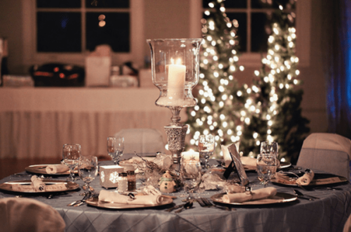 Décoration de tables inspirée par Noel - Photo Turner Creative Photography