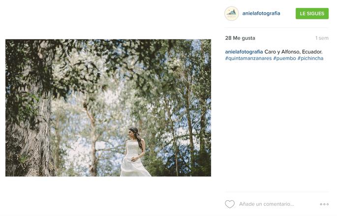 Aniela Fotografía Instagram