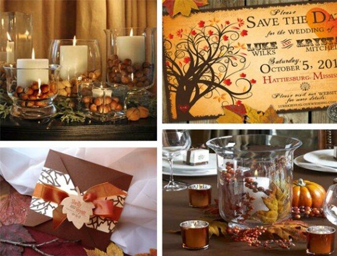 Foto: Los colores de tu boda y Etsy