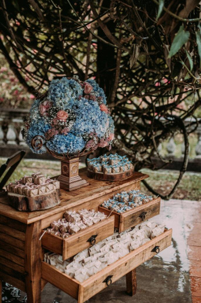 Decoração: DIY noivos e família da Noiva - Foto: Alecrim Fotografia