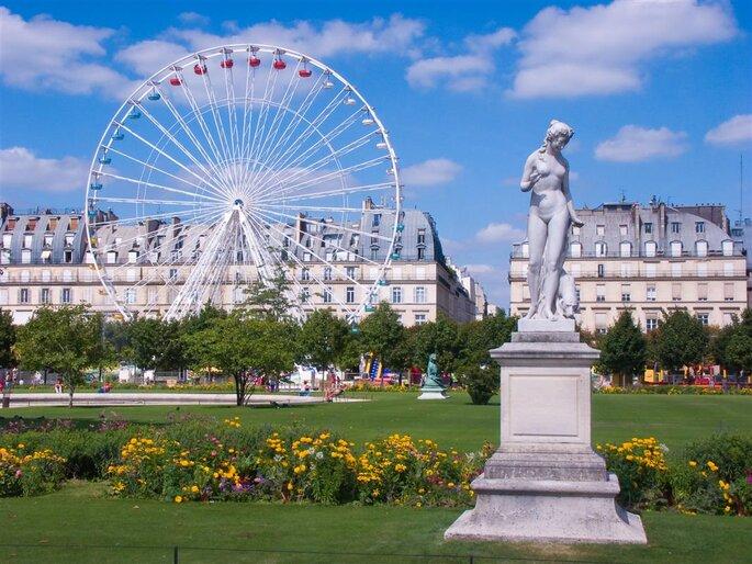 Jardin Tuileries. Foto: divulgação