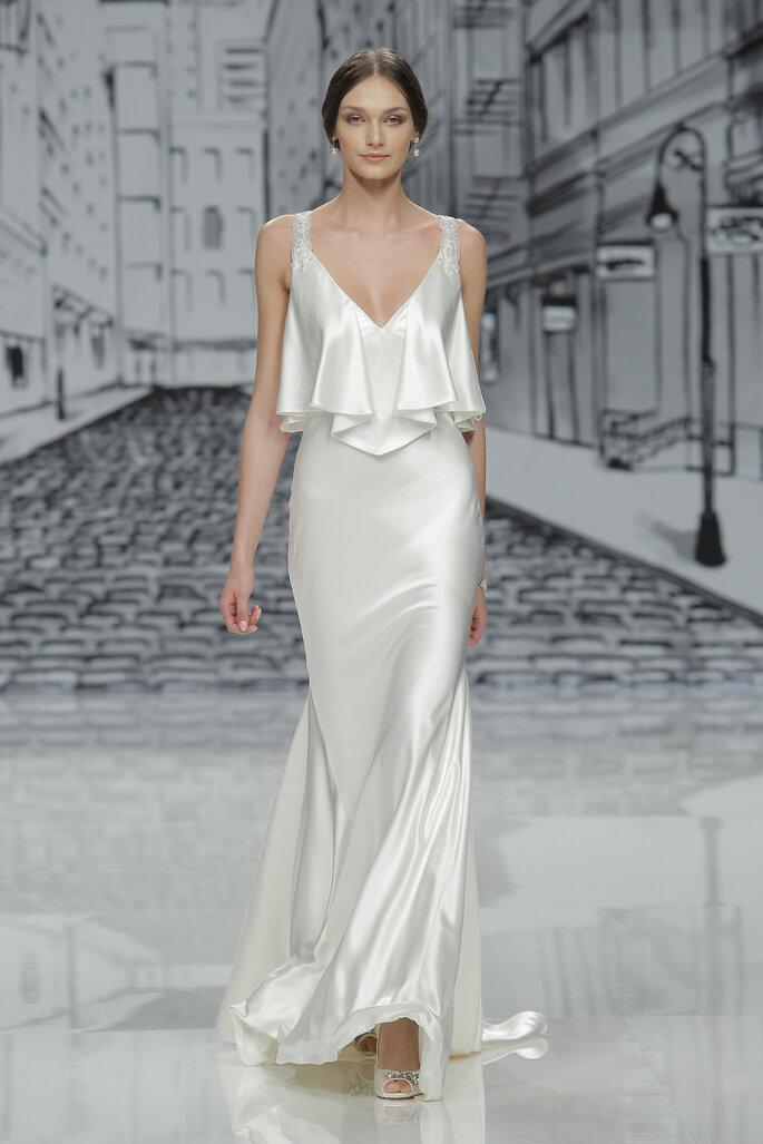 Vestido de novia, Justin Alexander.