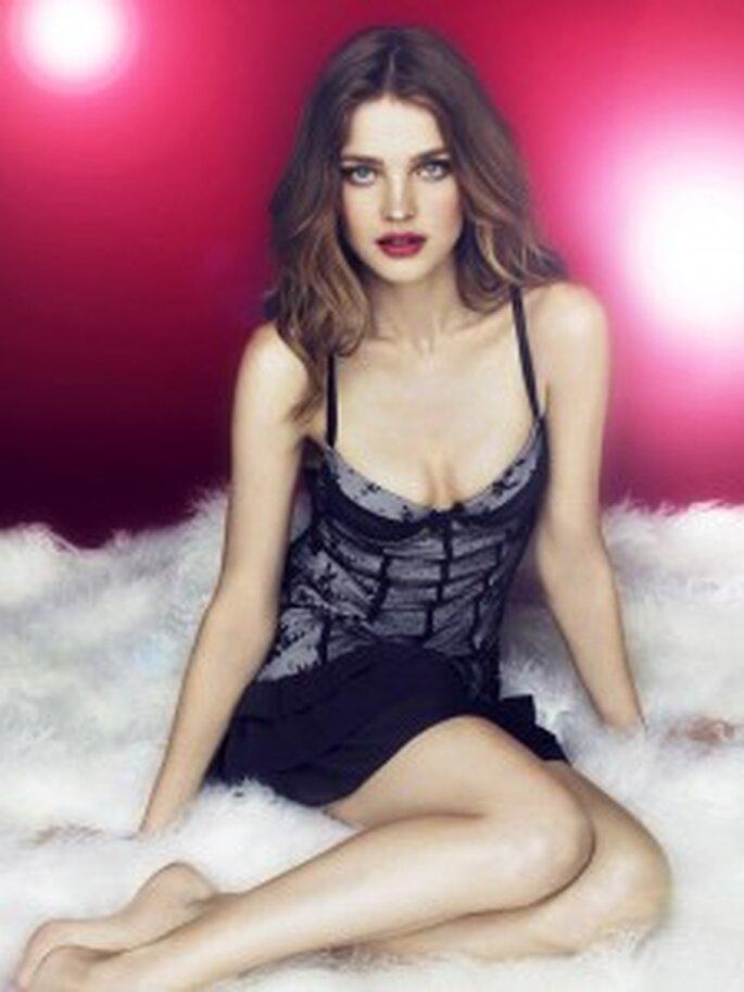Natalia Vodianova pour Etam - modèle Beauty