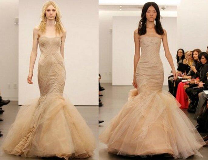 Kleider für eine sexy Braut im Meerjungfrauenstil von Vera Wang