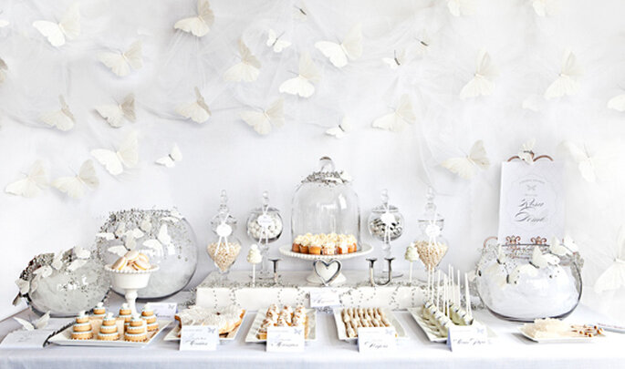 Butterfly dessert table - Photo: Rena Harvey