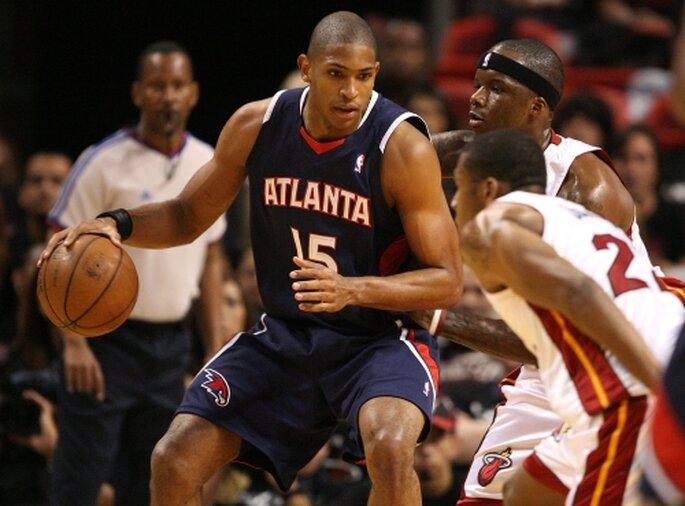 Al Horford, basquetbolista de los Atlanta Hawks, NBA