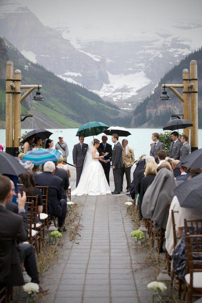 Qué hacer si llueve en mi boda - Foto Photophilcro