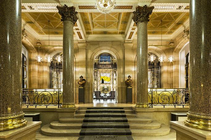 Hotel Hilton Paris Opera Un Lieu De Reception Somptueux