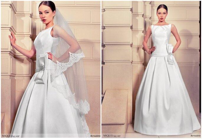 """Vestido de novia """"Bernadette"""" de Miquel Suay 2013. Foto: www.miquelsuay.com"""