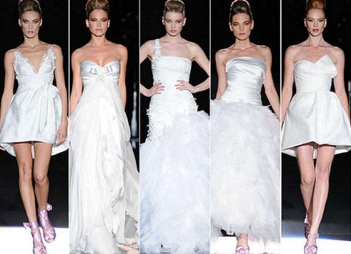 Desfile de Hannibal Laguna 2012, Barcelona Bridal Week