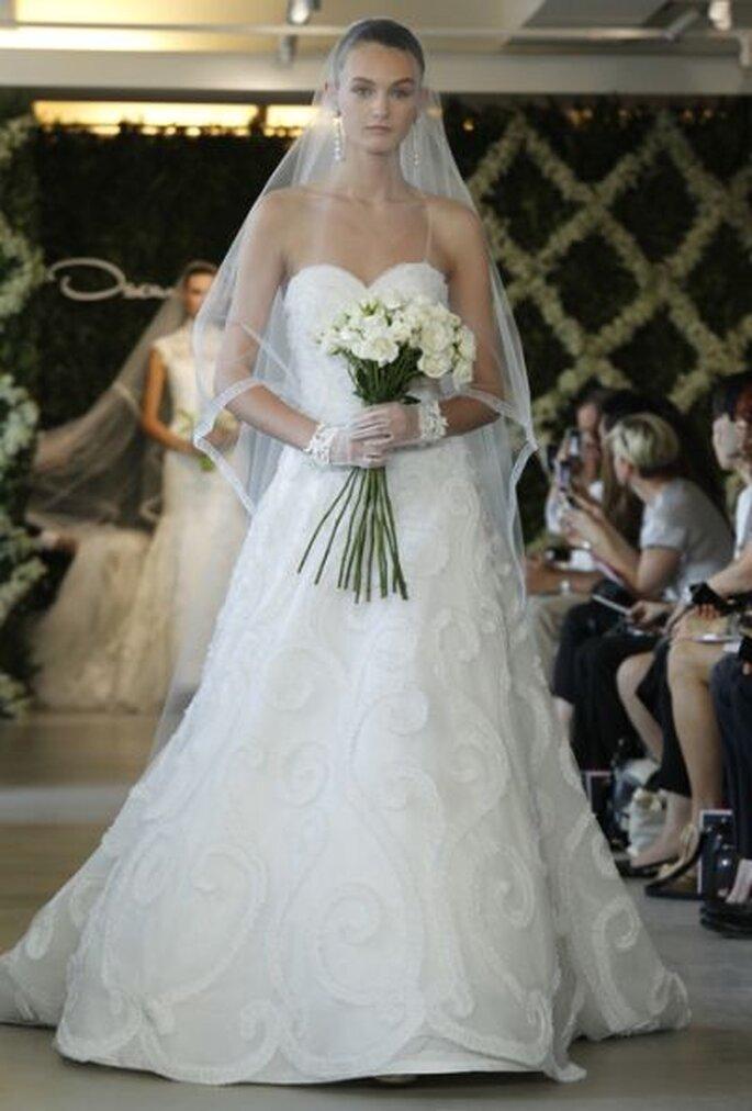 Mit den Brautschleiern von Oscar de la Renta wird jede Braut zur Prinzessin – Foto: Oscar de la Renta