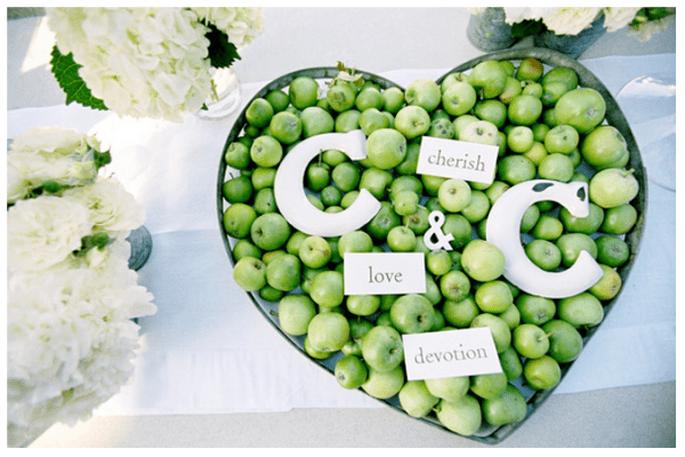 Una boda inspirada en San Valentín con muchos corazones - Foto Jose Villa