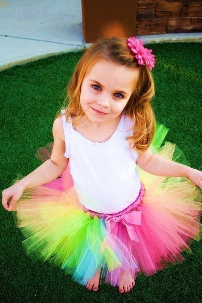 Robe tutu colorée - Lilyjillbowtique - Etsy.com
