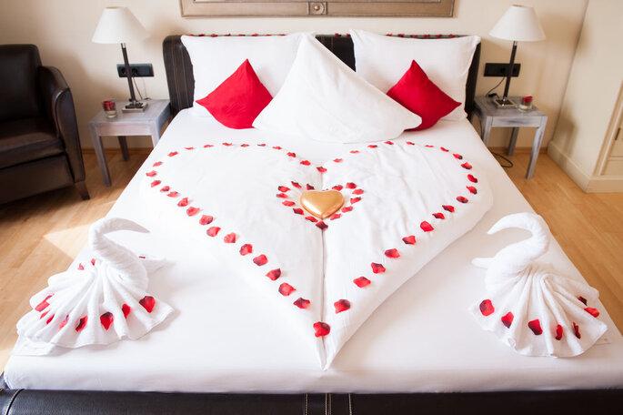 Hochzeitssuite in Hotel Villa Medici