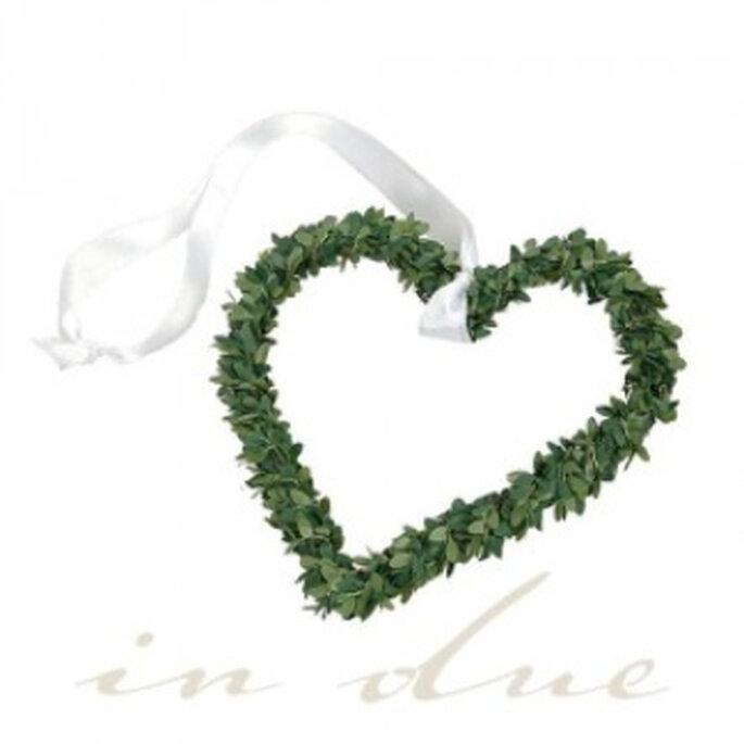 Autokranz: Hochzeitsdeko für Ihr Auto - erhältlich im Hochzeitsshop in-due.de