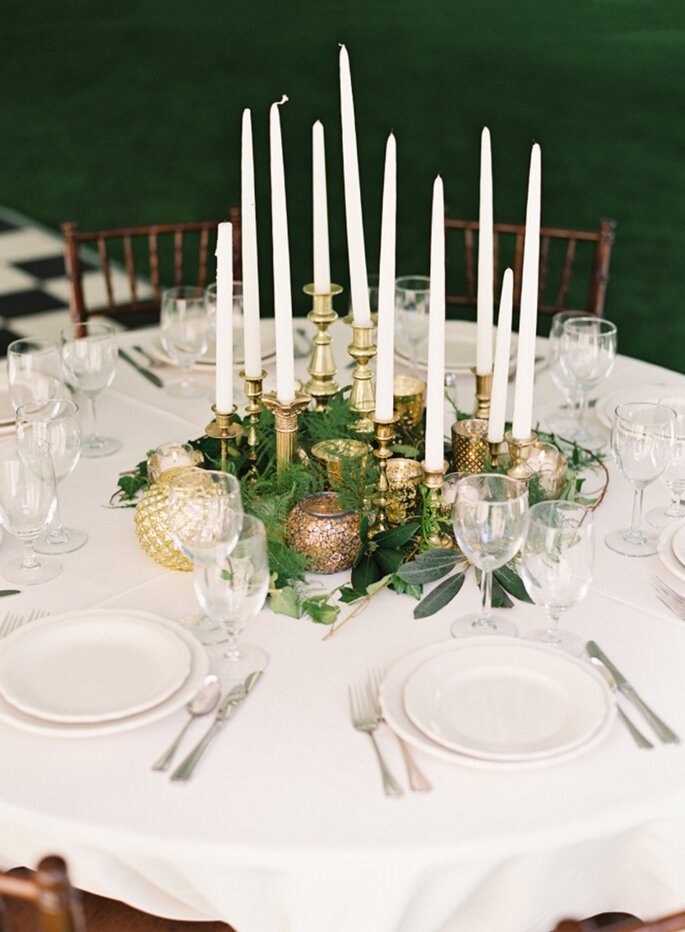 Centros de mesa para matrimonio