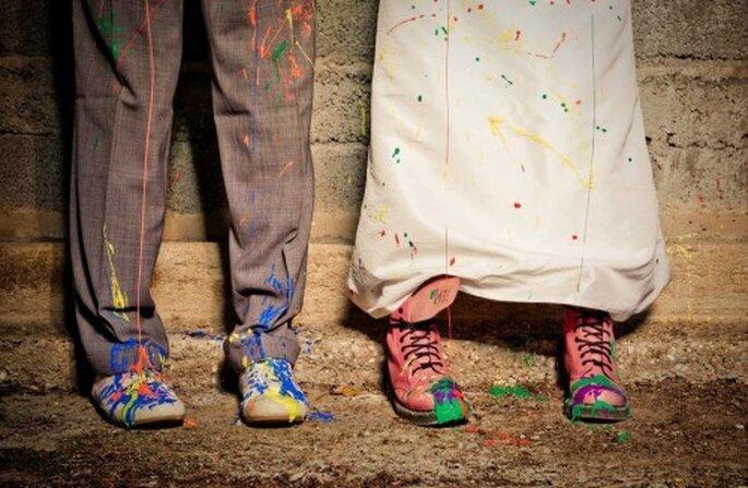 Une séance Trash The Dress : laissez libre cours à votre imagination ! - (C) Magali Tarasco