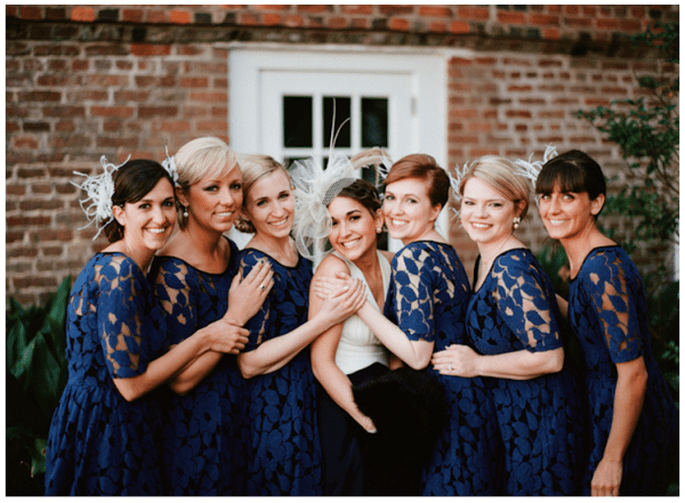 Vestidos en tendencia para damas de boda - Foto Nathan Westerfield
