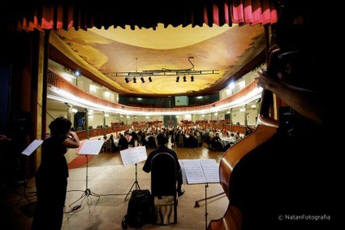 Tu boda en un teatro - Foto: Natan Fotografía