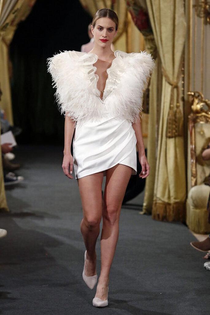 Cristina Piña diseñadora de novias Madrid