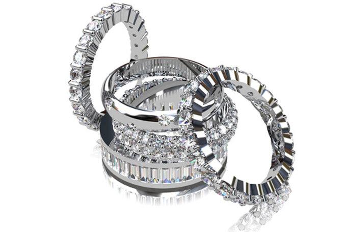 Alianzas de boda de diamantes, de Diamantísimo