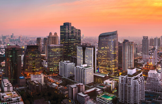 Bangkok photo via Shutterstock: photo by Anuchit kamsongmueang