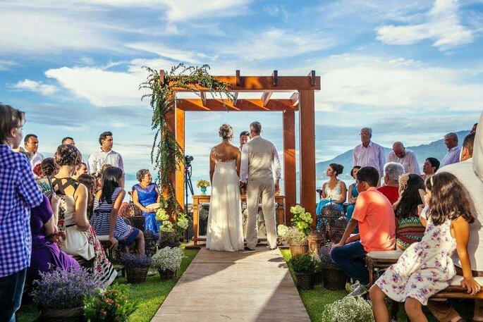 casamento no praia